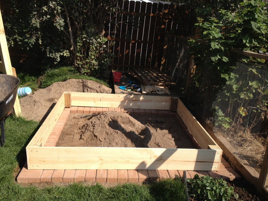 Adding pavers for edging
